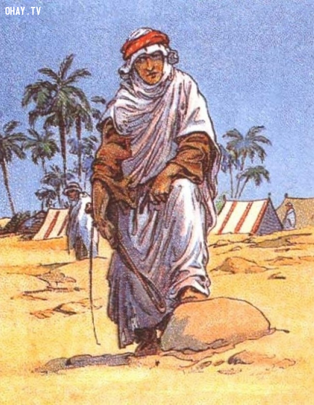 1. Một người Ả Rập đang buồn rầu vì bị mất ngựa. Bạn có nhìn thấy nó ở đâu không?,thử tài tinh mắt