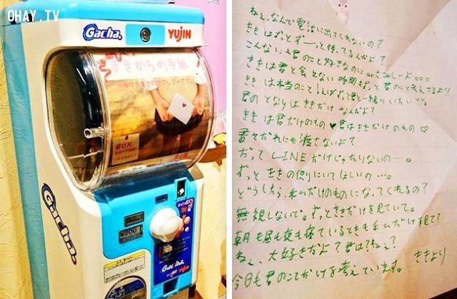 21. Những người yêu Anime rất thích công việc viết thư tay. Đối với những người quá lười viết tay, có một chiếc máy tự động giúp tạo văn bản viết tay thực sự có ý nghĩa.,phát minh hữu ích,người nhật bản