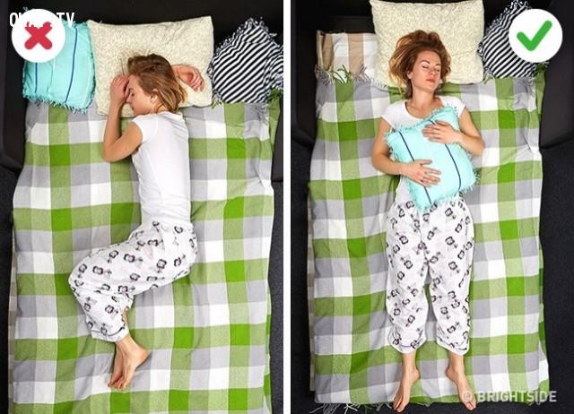 Tư thế để tránh bị đau vai,chữa mất ngủ,cách trị mất ngủ,bệnh mất ngủ