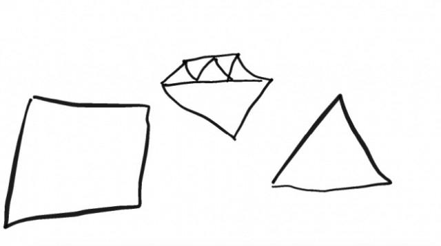 Hình vuông, kim cương và các hình góc cạnh,trắc nghiệm tính cách,hình vẽ,tâm lý học