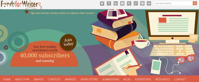 2. Fundsforwriters,kiếm tiền online,viết báo online,cộng tác viên viết bài,website hay