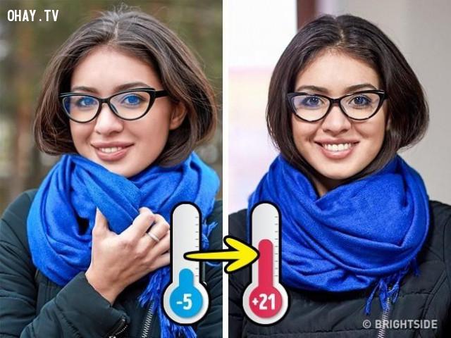 6. Chống mờ kính khi đeo khẩu trang hay nhiệt độ thay đổi,người cận thị,người đeo kính