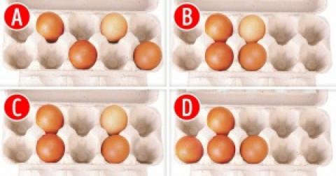 Chọn vỉ trứng có bố cục phù hợp nhất, điều đó sẽ nói lên điểm mạnh của bạn là gì
