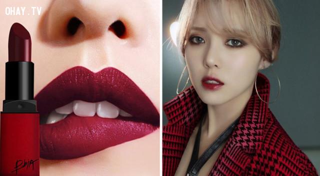 5. Son màu đỏ rượu,cách chọn màu son,son môi nào tốt,son môi đẹp
