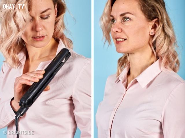 2. Áo bị nhăn,mẹo thời trang,khắc phục sự cố