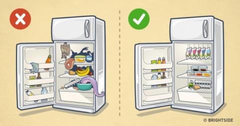 9 cách tuyệt vời để tủ lạnh nhà bạn luôn ngăn nắp