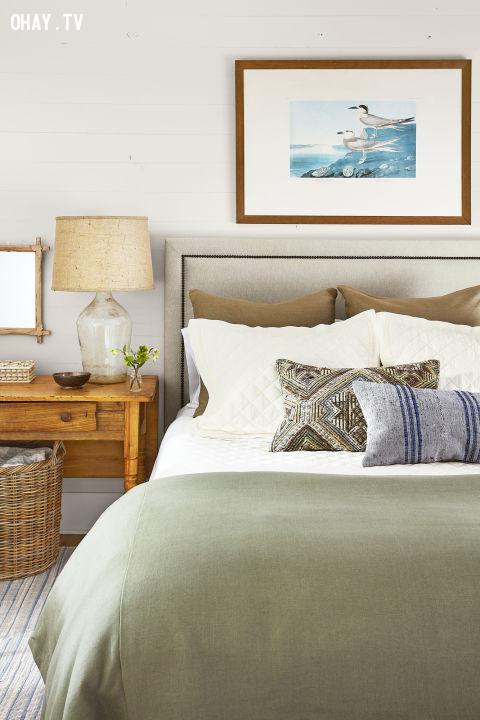 5. Tranh thiên nhiên đặt đầu giường,trang trí nhà cửa