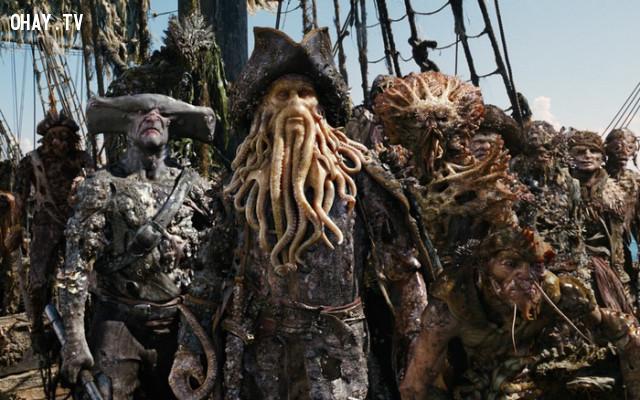4. Cướp biển luôn phiêu diêu trên đại dương,cướp biển vùng caribe,những điều thú vị trong cuộc sống,hải tặc