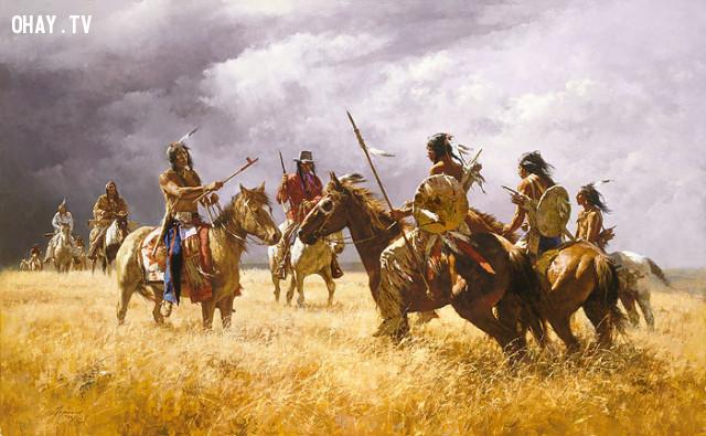 Thảm sát bên bờ sông Colorado,thảm sát,người da đỏ,thổ dân