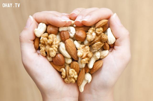 5. Các loại quả và hạt khô,thực phẩm tốt cho sức khỏe,thực phẩm tốt cho gan,sống khỏe