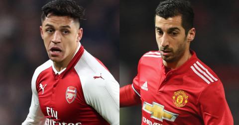 Manchester Utd và Arsenal vẫn đang tiếp tục đàm phán thương vụ trao đổi Sanchez - Mkhitaryan
