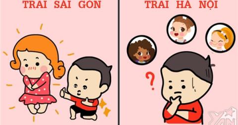 Khi yêu - Trai Sài Thành tốt hơn trai Hà Thành?