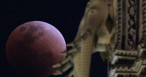 45 bức ảnh Siêu trăng, trăng máu tuyệt đẹp trên bầu trời khắp thế giới