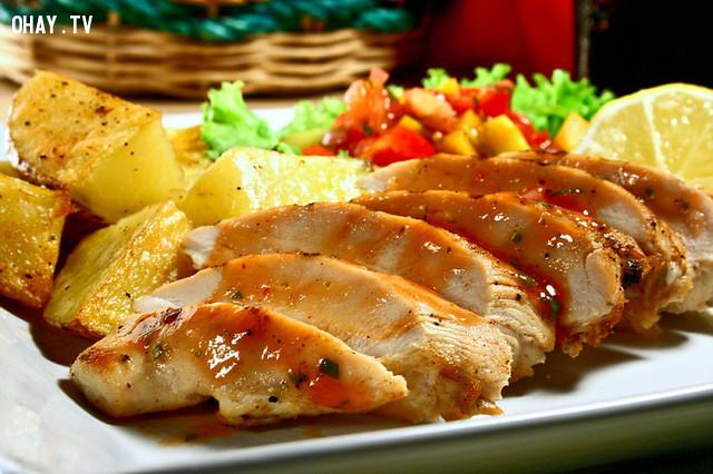 2. Đối với thực phẩm đã nấu chín,bảo quản thực phẩm,mẹo nhà bếp