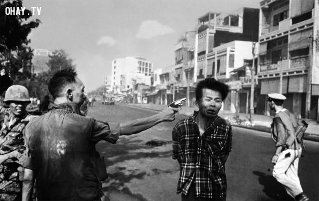 Chiến sỹ trong bức ảnh là ai?,lịch sử Việt Nam,Nguyễn Ngọc Loan,hành quyết tại Sài Gòn