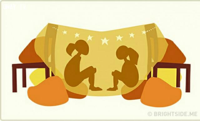 5. Cùng xây chỗ ẩn náu và kể bí mật cho nhau nghe,ảnh minh họa,anh chị em