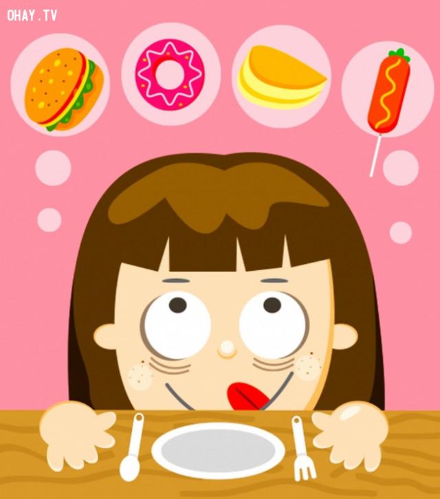 Mau đói,bệnh tiểu đường,dấu hiệu sức khỏe