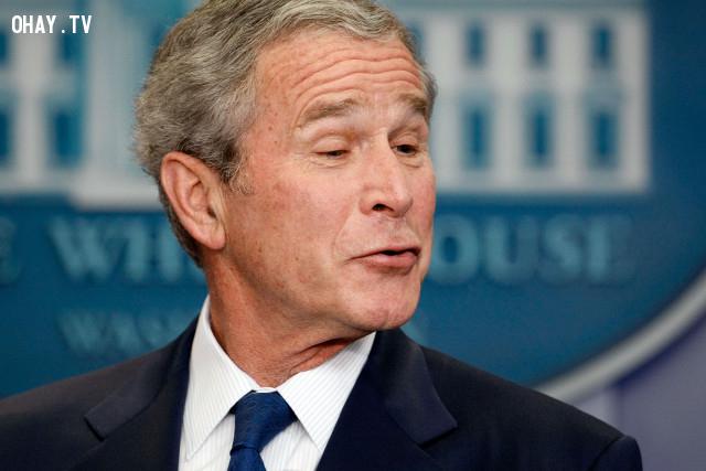George Bush,câu nói ngu,người nổi tiếng