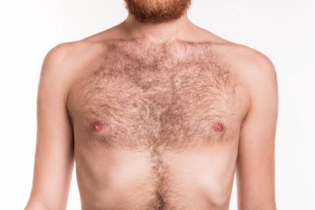 Lông ngực ở nam giới,cơ thể con người,sự tiến hóa