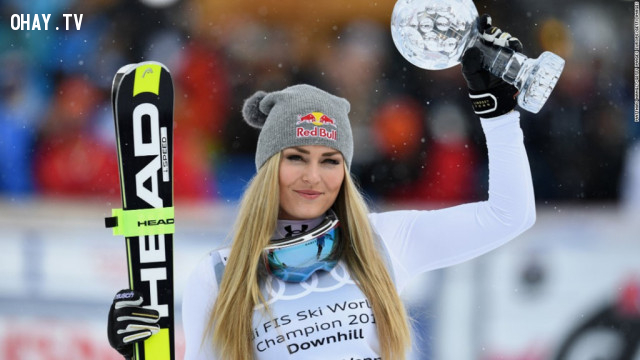 Lindsay Vonn (trượt tuyết - Mỹ),Olympic mùa đông,vận động viên xinh đẹp