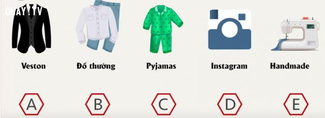 3. Bạn thích mặc bộ đồ nào nhất?,