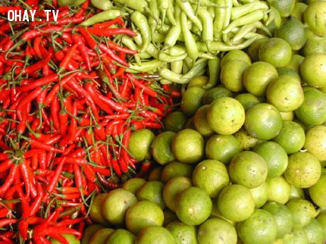 5. Trái cây có vị cay, đắng, chua,mâm ngũ quả,tết nguyên đán,kiêng kỵ,tâm linh