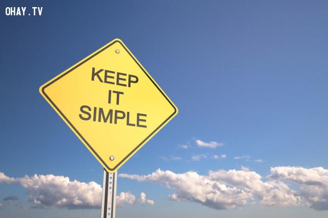 2.Đơn giản,cách sống tốt,hoàn thiện bản thân,hạnh phúc