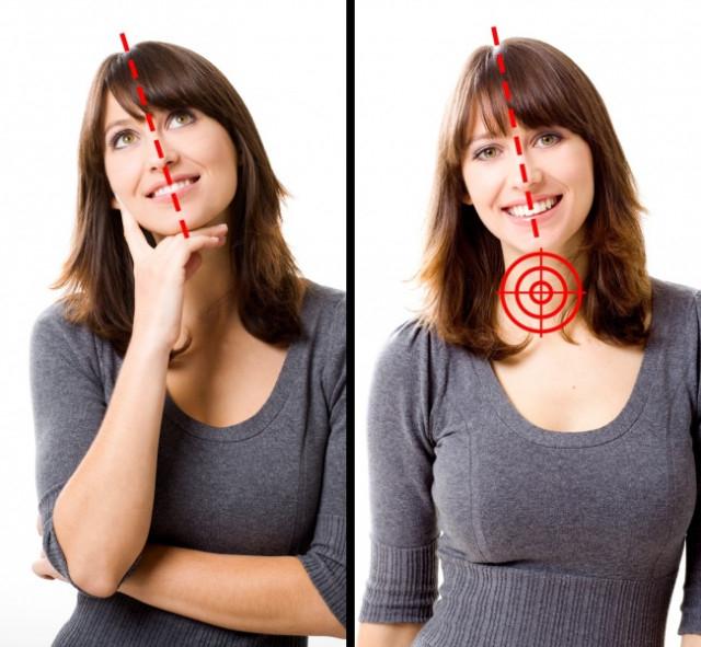 1. Nghiêng đầu sang một bên,tâm lý học,kỹ năng giao tiếp