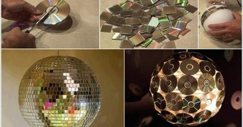 Tái chế đĩa CD cũ thành những món đồ tuyệt đẹp và hữu ích
