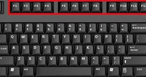 Có thể bạn chưa biết: Công dụng hữu ích của 12 phím chức năng từ F1 đến F12