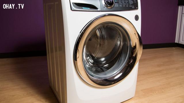 Ưu và nhược điểm của máy giặt cửa trước (máy giặt lồng ngang),máy giặt,mẹo tiêu dùng,mua hàng điện máy,lưu ý khi mua máy giặt