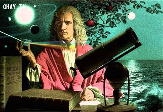 2. Không có một quả táo nào rơi vào đầu Issac Newton,những điều thú vị trong cuộc sống,lời nói dối