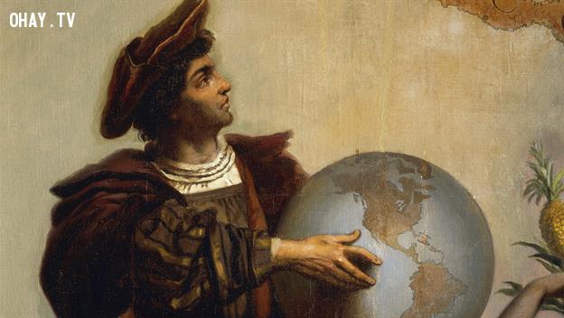 4. Columbus chưa bao giờ chứng minh Trái đất tròn?,những điều thú vị trong cuộc sống,lời nói dối