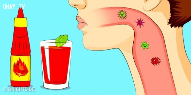 Nhiễm khuẩn cổ họng,nhiễm trùng,mẹo sức khỏe,sống khỏe,viêm xoang