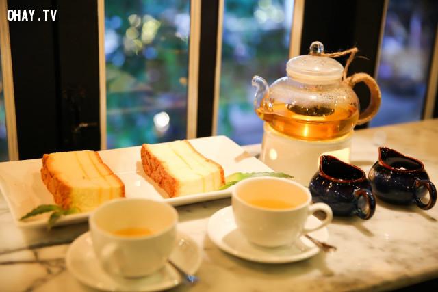 6. Thưởng thức trà,giảm stress,giảm căng thẳng