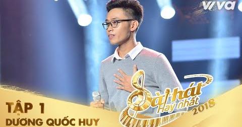 Bài hát ' Về nhà ' gây xúc động đến khán giả của Quốc Huy trong chương trình Sing My Song 2018