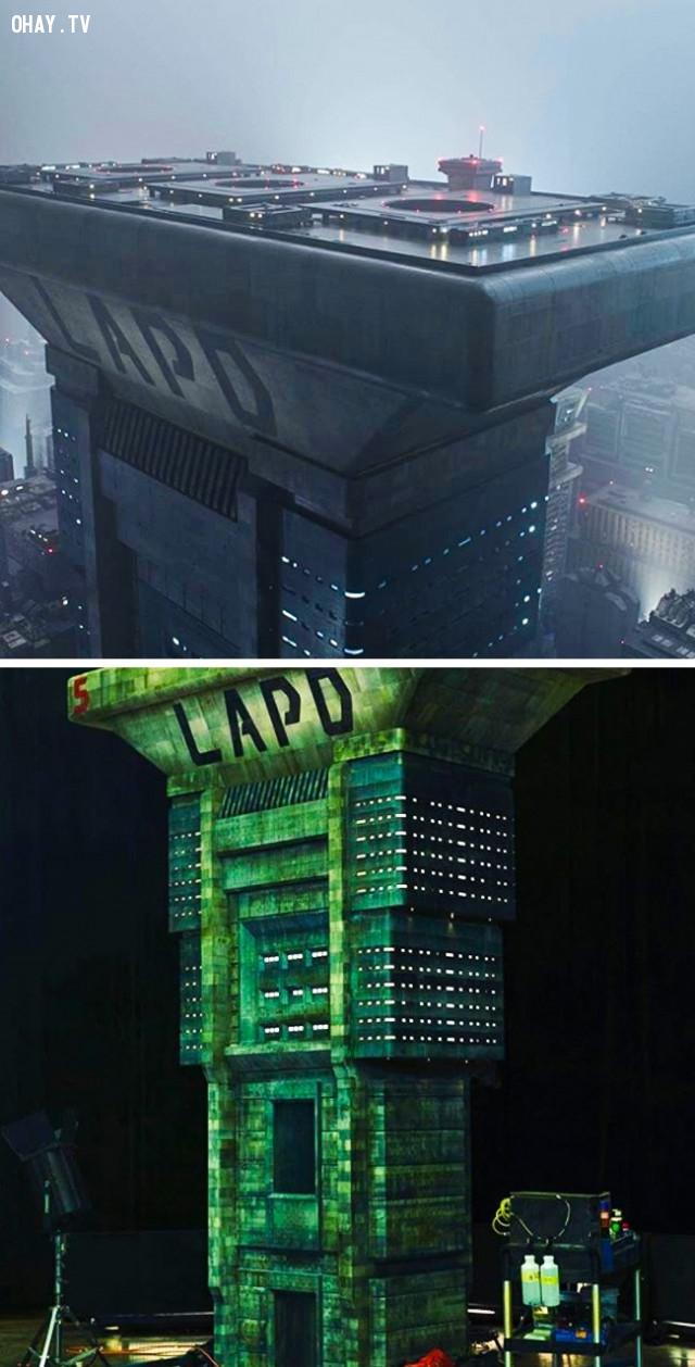 3. Blade Runner 2049,kỹ xảo điện ảnh,phim trường tí hon