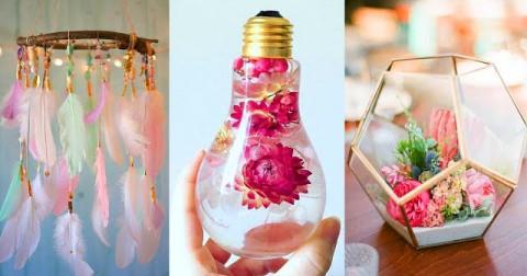 Tự tay điểm tô ngôi nhà của bạn bằng những đồ handmade nhỏ xinh, tại sao không?