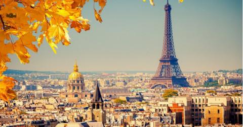 Kinh đô ánh sáng và sự lãng mạn mang tên Paris