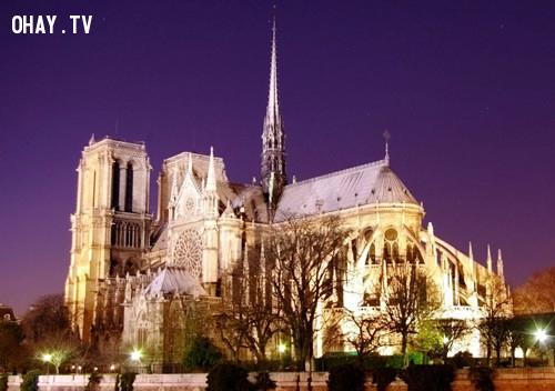 Nhà thờ Đức Bà,Paris,nước Pháp