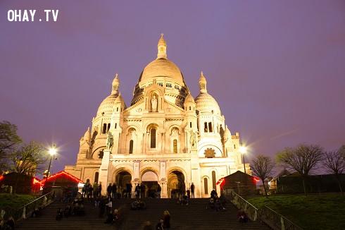 Vương cung Thánh đường Sacré-Coeur,Paris,nước Pháp