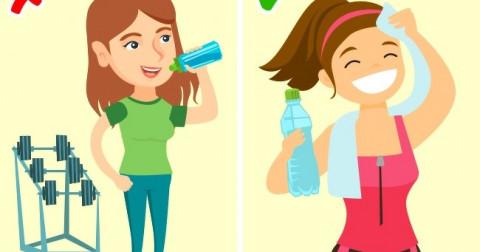 6 thời điểm này bạn nên tránh uống nước