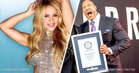 10 người nổi tiếng đã ghi danh vào kỷ lục Guinness thế giới