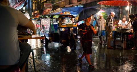 Những điều thú vị về mùa mưa của Thái Lan