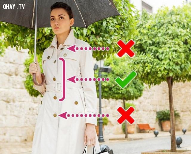 3. Áo Jacket (áo khoác) – nút nào nên cài, nút nào nên đóng?,mẹo thời trang