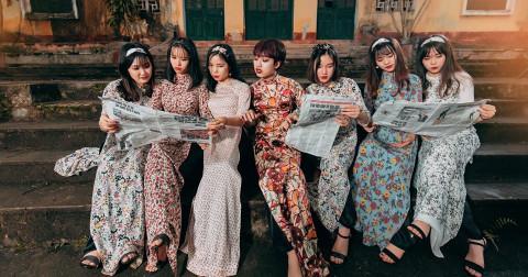 Bộ ảnh kỉ yếu đậm chất 'thần thái' của các 'cô ba Sài Gòn' Yên Bái đầy sáng tạo và ấn tượng