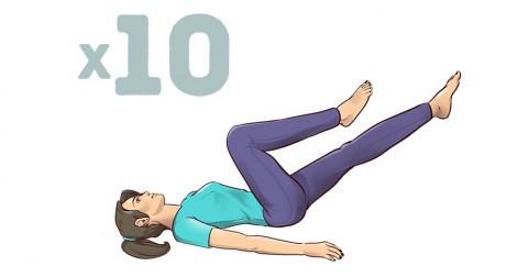 Giảm ngay những cơn đau lưng dai dẳng với 7 bài tập thể dục 1-phút tại nhà