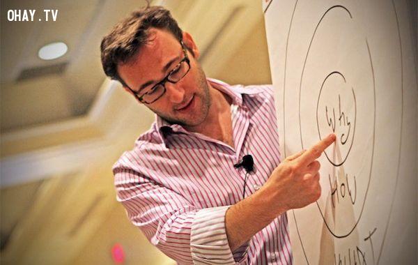 1. Tìm kiếm những gì bạn muốn,Hoàn thiện bản thân,cách sống tốt,nhà diễn thuyết,Simon Sinek