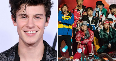 Shawn Mendes gây ngạc nhiên khi tiết lộ anh gần như 'ám ảnh' xem video nhảy của một nhóm nhạc hip-hop đến từ nhạc Hàn Quốc - BTS