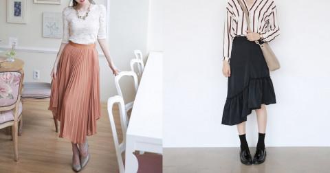 9 kiểu váy midi giúp bạn tự tin tỏa sáng